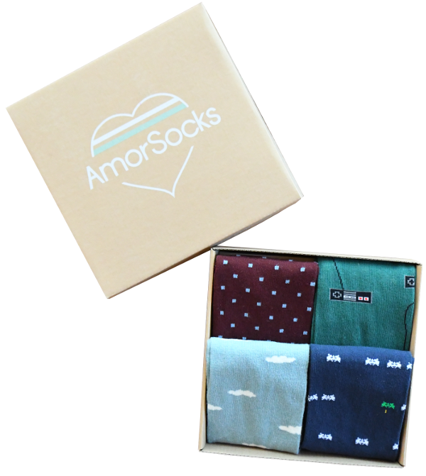 AmorSocks Calcetines Chulos Made In Spain nuevo_pack_amorsocks