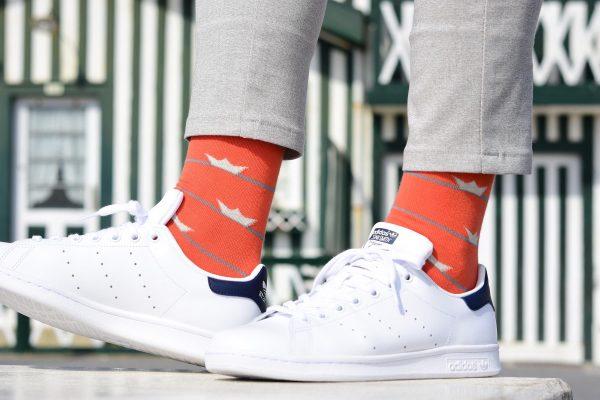 amorsocks-calcetines-socks-barquitos-naranja-mandarino-verde-libelula-green