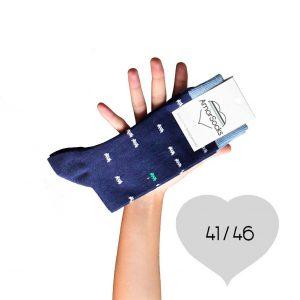 AmorSocks-calcetines-socks-marcianitos-arcade-azul-marino-blanco