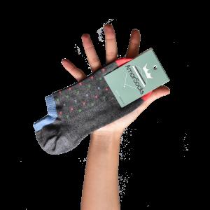 amorsocks-calcetines-tobillero-invisible-socks-cubos-gris-melange-cuadrados-coral-verde-celeste-cuadrado