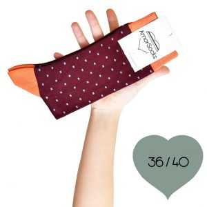 amorsocks-calcetines-socks-cubos-cuadrados-burdeos-borgoña-granate-celeste-naranja-pack