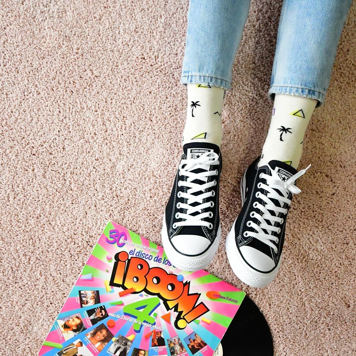 amorsocks-calcetines-socks-miami-palm-palmbeach-beige-palmeras-90s-series-limitadas