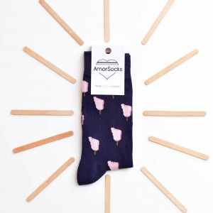 amorsocks-calcetines-socks-pie-helado-azul-marino-rosa-pies-frigopie-helado-cuadrada-pack