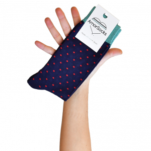 amorsocks-calcetines-socks-lunares-topos-blue-marco-azul-marino-verde-libelula-green-red-rojo-pack