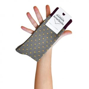 amorsocks-calcetines-socks-lunares-topos-kaki-khaki-verde-mostaza-amarillo-yellow-burdeos-3-pack