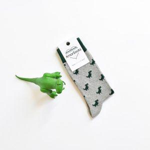 amorsocks-calcetines-socks-dinos-dinosaurios-trex-tiranoraurio-gris-grey