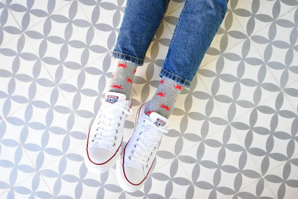 AmorSocks-calcetines-socks-cangrejo-cangrejo-marisco-grab-gris-grey-gray