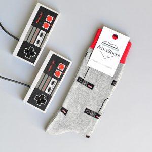 AmorSocks Mandos NES Grey