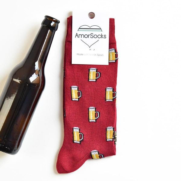 AmorSocks AmorBeer Red