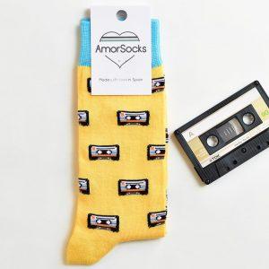 AmorSocks Cassette Yellow Pack