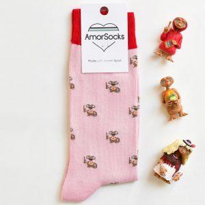 AmorSocks Mi Casa Pink ET